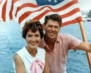 Ronald and Nancy Reagan, 1964