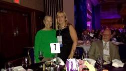 Advocates Myriam and Nancy at the Alzheimer's Association Forum