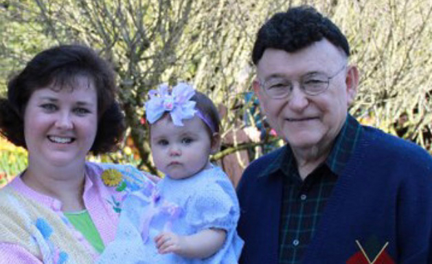 Valerie and her Father_blog banner