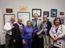 Julie in Washington DC as an Alzheimer's Advocate